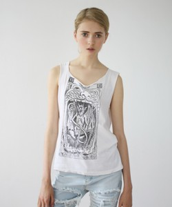 Devil Tank Top, $99, by Bess at I Don't Like Mondays